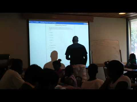 BTW Summer Program with Dr. Black 07.14.2011 Part 3