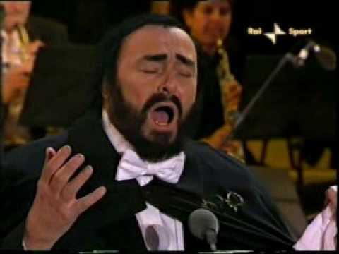 "Pavarotti Last Performance ""Nessun Dorma"" @ Torino 2006"