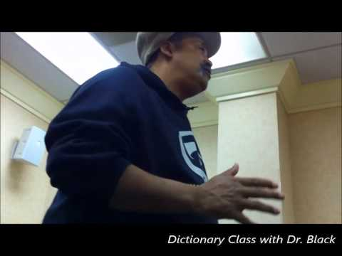 Freedom and Truth - Dictionary Class with Dr  Black - Full