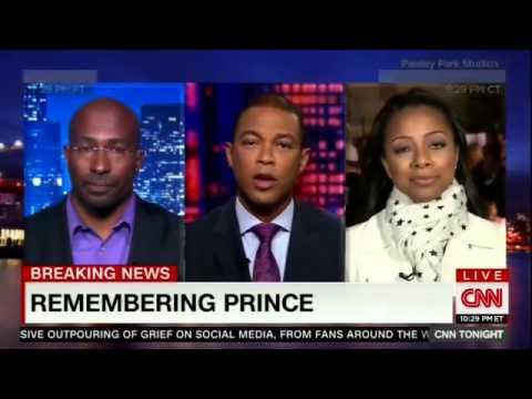 CNN Tonight With Don Lemon   Van Jones on Prince's humanitarianism