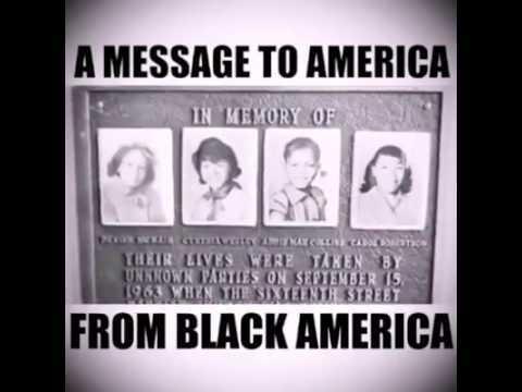 A Message to America from Black America