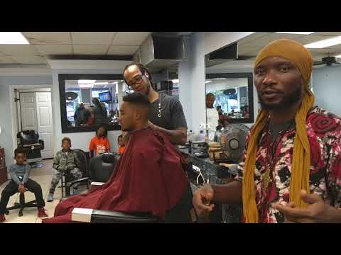 Barbershop Bitcoin talk