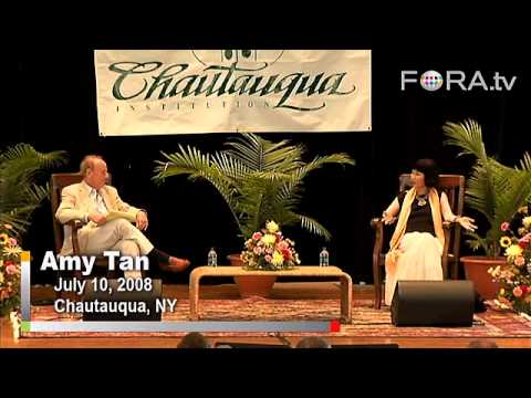 Amy Tan Interview - Finding Meaning through Writing