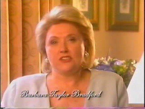 Barbara Taylor Bradford: My Secrets To Writing
