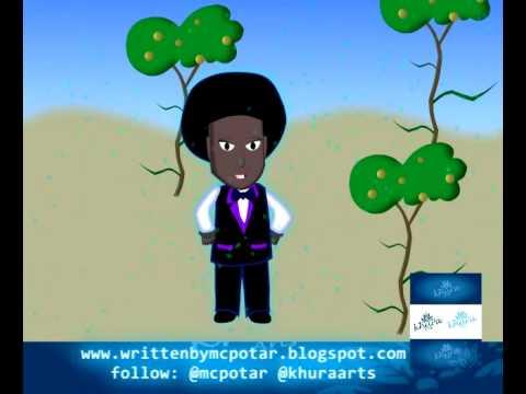 Spoken Word Animated Short - Mcpotar- Beautiful Africa