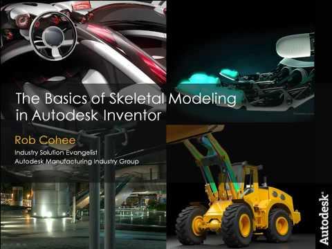 The Basics of Skeletal Modeling in Autodesk Inventor Part 1 of 2