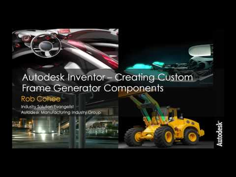 Create Custom Content for Autodesk Inventor Frame Generator