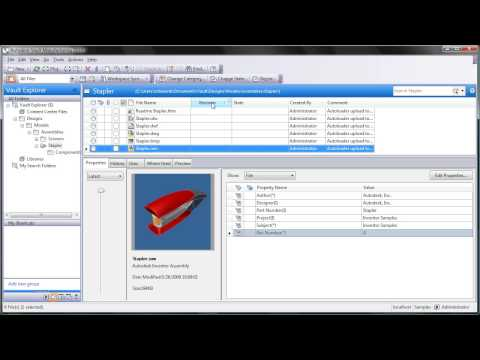 Mapping Revisions with Autodesk Vault Workgroup Part 1