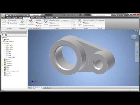 Part 3: AutoCAD Inventor LT Suite - Making Configurations with iPart