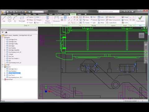 Autodesk Inventor 2010 Layout Design