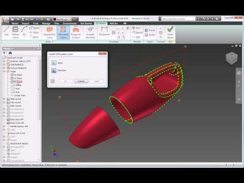 Autodesk Inventor 2010 Plastic Part Design