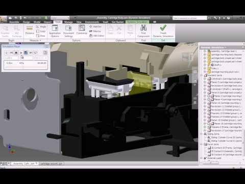 Autodesk Inventor 2010 Simulation