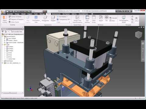 Autodesk Inventor 2010 Assembly Design