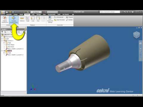 Create and Use a Contact Set in Autodesk Inventor 2010