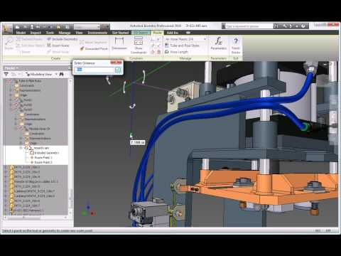 Autodesk Inventor 2010 Tube and Pipe Design