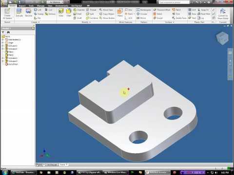 Autodesk inventor 2010 3D grip