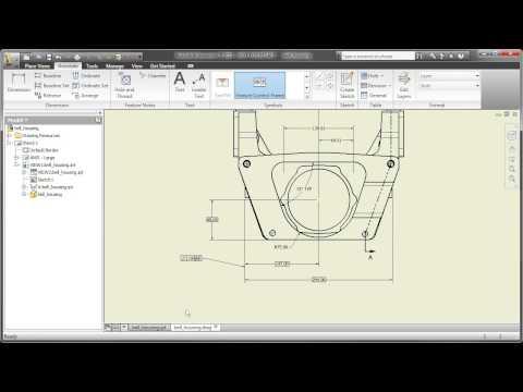 Part 9: AutoCAD Inventor LT Suite - Working with Pro/E Parts