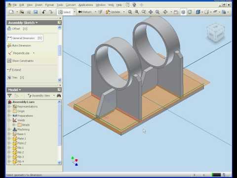 Autodesk Inventor tutorial 2009 Machining