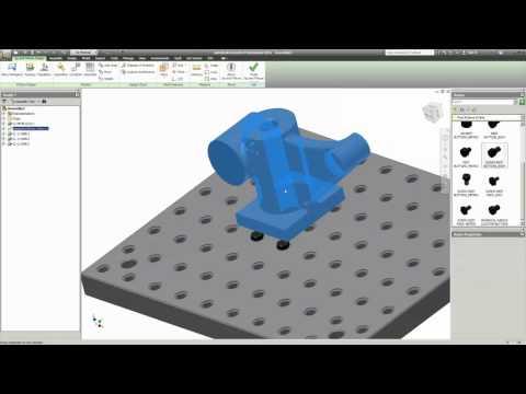 Autodesk Labs: Overview of Jig & Fixture Design for Inventor