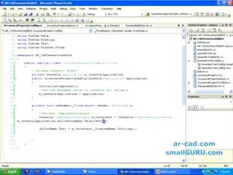 Develop Autodesk Inventor Addin using C# - Part 5
