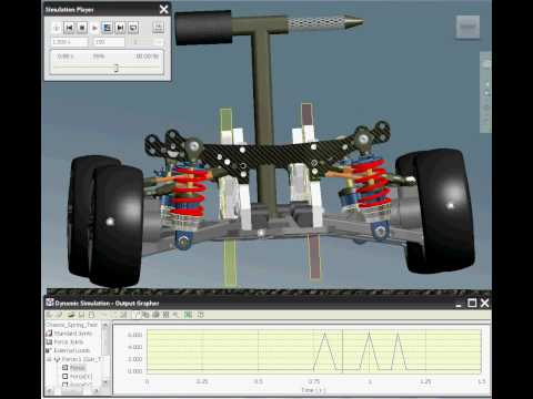 Autodesk Inventor 2010 Simulation Chassis Tipping Analysis