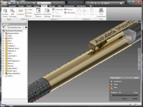 Inventor 2012 Interface Enhancements