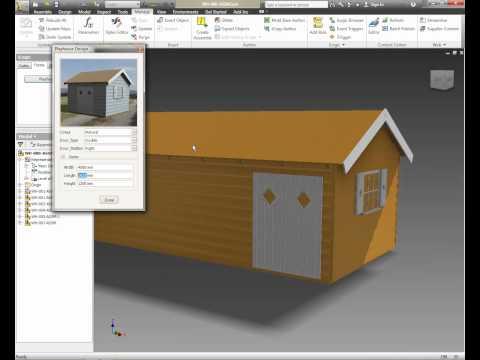 Autodesk Inventor 2012 - iLogic Form Creator