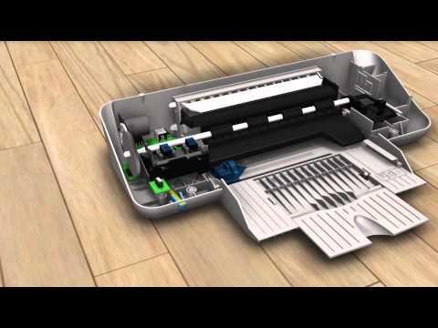 Printer ontworpen in Inventor 2011 & Showcase