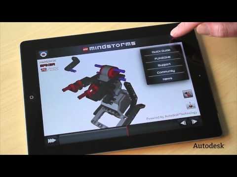 Autodesk Provides First Ever 3D Building Instructions for LEGO® MINDSTORMS®