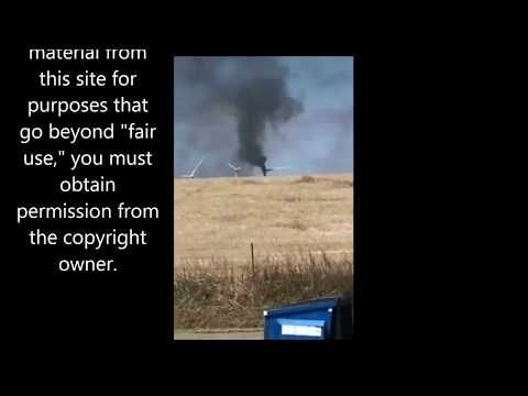 Oklahoma Turbine Fire