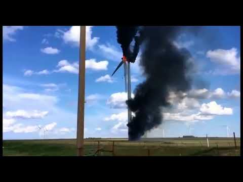 Texas Turbine Fire
