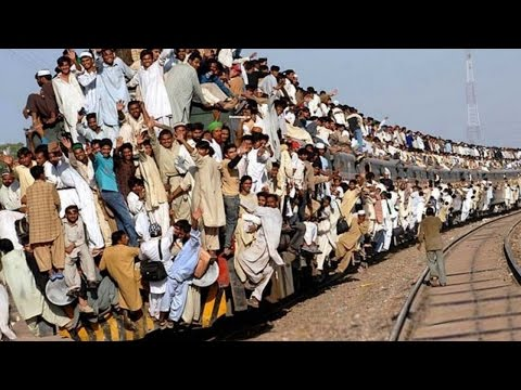 The MOST OVERCROWDED TRAINS in the World!