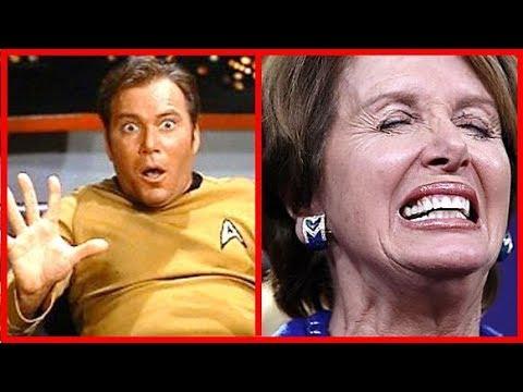 Captain KIRK Meets Nancy Pelosi and Maxine Waters