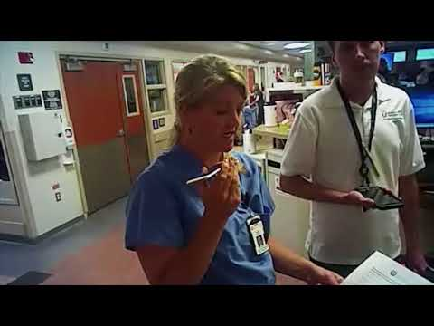 Arrest of University Hospital nurse Alex Wubbels