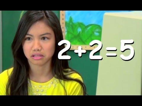 KIDS REACT TO 2+2=5 (COMMON CORE)