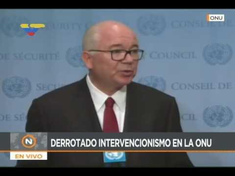 Rafael Ramírez, embajador de Venezuela en la ONU: Injerencia de EEUU provoca la violencia
