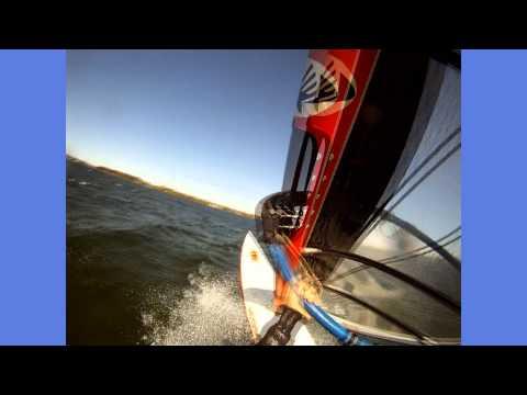 Windsurfing, Cass Lake, 2011, Ezzy 5.3 Infinity sail