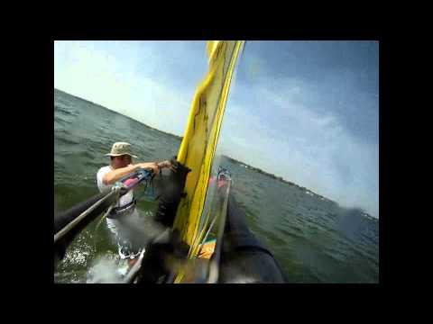 Windsurfing Cass, Sept 21, 2010