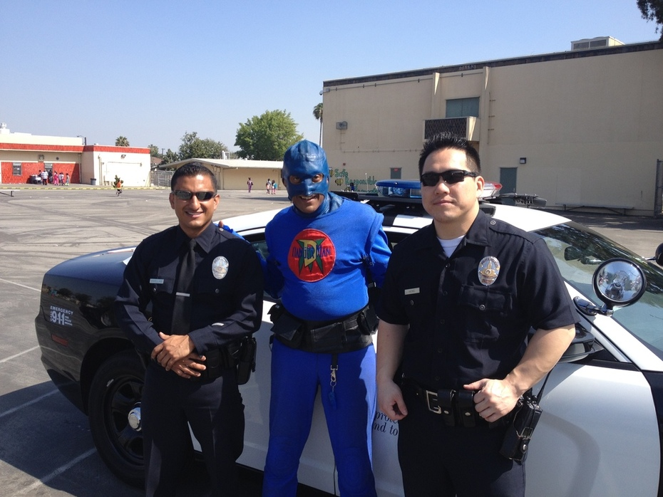 DangerMan Says they Serve and Protect.