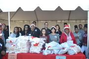 Christmas toy giveaway, Baldwin Hills Crenshaw Plaza, 12/13/2014