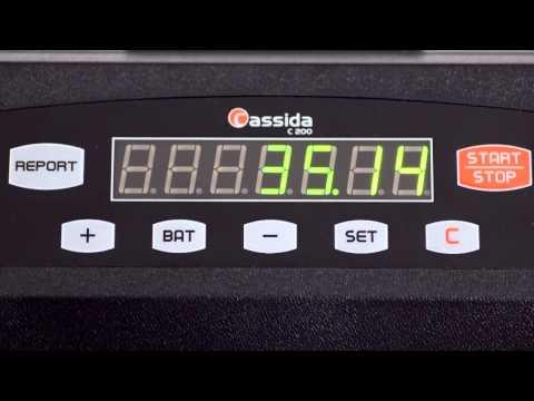 Cassida C200 Coin Counter/Sorter/Wrapper