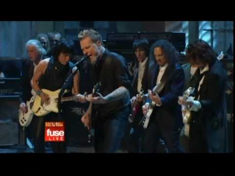 Stroll on - Jimmy Page/Ron Wood/Jeff Beck/Metallica