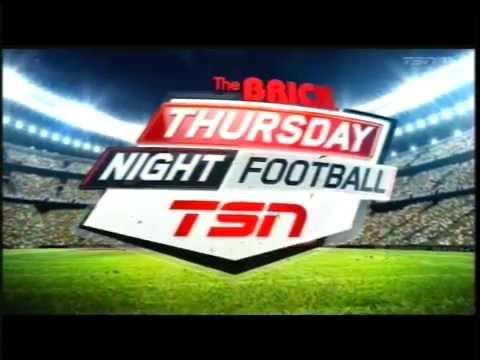 TSN Thursday Night Football intro - CFL