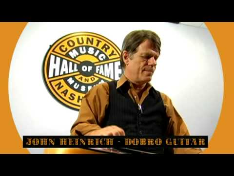 John Heinrich @ The Country Music Hall of Fame and Museum 2008  part 1