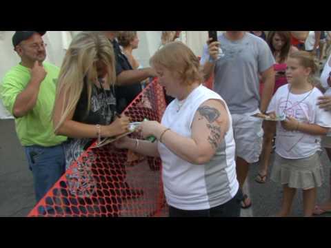 Kellie Lynne - Celebrate Erie '09 Meet 'n Greet