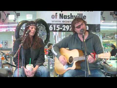 """Bridgette and Dustin Sciaraffo playing """"Man on a Mission"""" Live Onstage"""