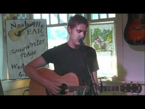 AJ Schubert playing live onstage at the Fontanel