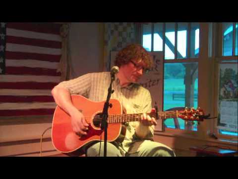 Harlan Pease singing a love song at the Fontanel