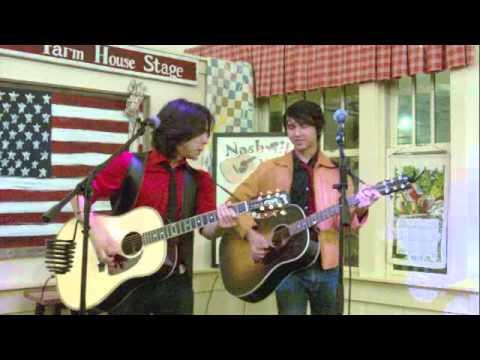 Sam & Luke playing the Fontanel