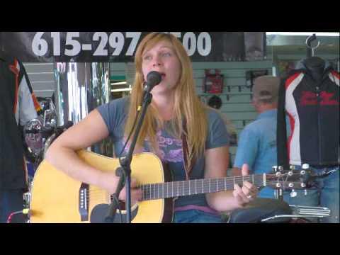 Crystal Chandler playing Bost Harley Davidson in Nashville Tn